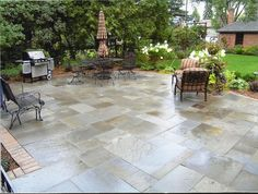 bluestone patio patterns bluestone patio - Bluestone Patio Ideas