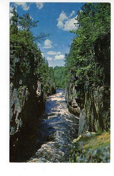 Crane Lake Gorge Lake Vermilion Minnesota Postcard