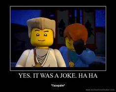 Yes. It was a joke. Ha Ha. I LOVE Zane!!!!!!