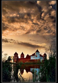 The most well known landmark of Estonian island Saaremaa is the castle of Kuressaare built in late XIV century. It is the most well preserved castle in the Baltic States.