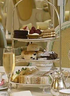 Champagne Afternoon, holiday tea!