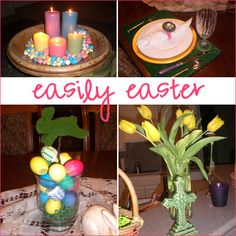 Easy, yet awesome decorating ideas for Easter
