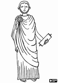 athens clothing coloring pages - photo#25