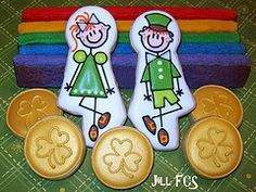 St. Patrick's Day cookies  Jill FCS rocks!