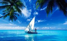 Sailing on the Indian Ocean - my next boat? Segel Im Wind, Dream Vacations, Vacation Spots, Strand Wallpaper, Places To Travel, Places To See, Sea Photo, Nature Wallpaper, Boat Wallpaper