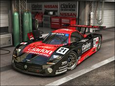 Nissan R390 by dangeruss.deviantart.com on @deviantART
