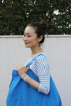 Masaki's diary Jun 2014 Tie Dye, Idol, Chic, Simple, How To Wear, Clothes, Women, Fashion, Shabby Chic