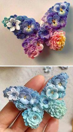 Crochet Art, Crochet Gifts, Crochet Motif, Crochet Designs, Crochet Patterns, Crochet Brooch, Crochet Braid, Crochet Things, Learn To Crochet