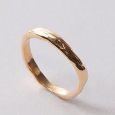 Wrap No.2 - 14k Gold Ring , Unisex Ring , Wedding Ring , Wedding Band
