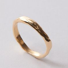 Wrap No.2 - 14k Gold Ring , Unisex Ring , Wedding Ring , Wedding Band