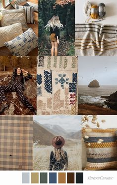 Pattern Curator delivers color, print and pattern trends and inspiration. Color Patterns, Print Patterns, Arcadia Bay, Mood Colors, Collage, Textiles, Fashion Forecasting, Colour Board, Color Stories