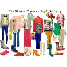 Cool Weather Clothes for Bright Spring