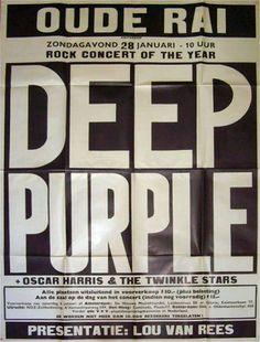 Deep Purple in Amsterdam, 28/29 januari 1973