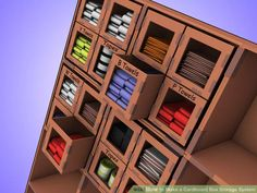 Image titled Make a Cardboard Box Storage System Step 4Bullet4