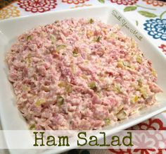 South Your Mouth: Ham Salad
