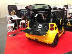 The Pioneer DJ Smart Car at the MEN Expo