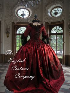 Marie Antoinette dress. Georgian colonial by TheEnglishCostumeCo