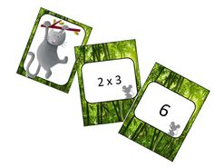 Jeu autour des tables de multiplications Multiplication Activities, Multiplication And Division, Math Tables, Cycle 3, Algebra, Math Centers, Special Education, To My Daughter, Mma