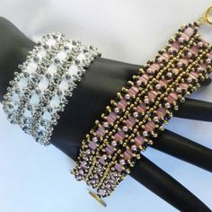 Tila and Seed Beads Bracelet by