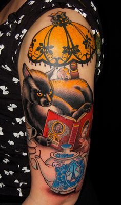 Seth Wood Tattoo, I wonder if this would work with pugs instead of a cat?
