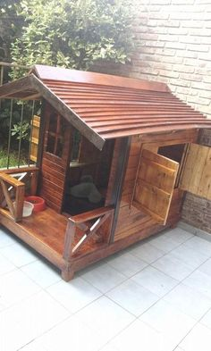 Dogs are naturally playful animals and will need to continuously hectic themselves with playing or checking out. #doghouses