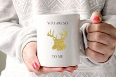 Mother's day gift you are so deer dear to me mug by GotAThought
