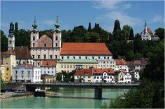 Steyr, Austria Austria Country, Steyr, Salzburg, Vienna, Places Ive Been, Mansions, House Styles, Heart, Tourism