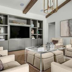 Talbot Cooley Interiors - living rooms - beautiful living rooms, living room alcove, living room built ins, living room built in cabinets, l...