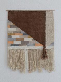 Wanddeko - Handgewebter Wandteppich MALA - ein Designerstück von mapeela bei DaWanda