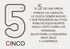 COSITAS PARA EL COLE: POESÍAS NÚMEROS 4, 5 Y 6