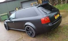 • Hmmm…Think this #RS6 #Avant was made to take...