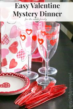 Pebbles and Piggytails: Making Life Meaningful: Valentine Mystery Dinner. Favorite family tradition