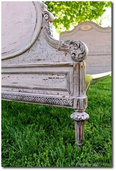 12+ Country Painted Furniture Pieces Featured Outside In The ...