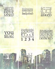More of Jace's words of wisdom, Cassie, I worship the ground you walk on! Thank the angel you were born!