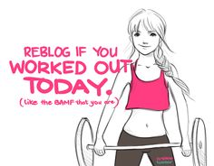 yeah i did and sweat poured from my body!