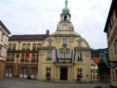 Rathaus, Kulmbach - Germany. This is where I have spent collectively 5 years of my life. My moms home town. This is my souls true home!