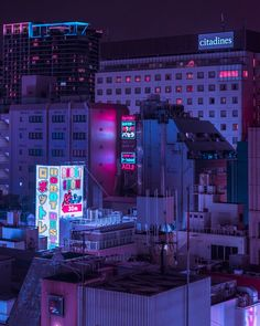 vaporwave paisagem living in moons with their wax and wane. Aesthetic Japan, Night Aesthetic, Purple Aesthetic, Cyberpunk Aesthetic, Cyberpunk City, New Retro Wave, Retro Waves, Aesthetic Backgrounds, Aesthetic Wallpapers