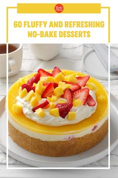 You'll own summer menus when these easy desserts pop up after dinner. Make Ahead Desserts, Easy No Bake Desserts, Summer Desserts, Easy Desserts, Pie Recipes, Dessert Recipes, Keylime Pie Recipe, Refreshing Desserts, Ice Cream Pies