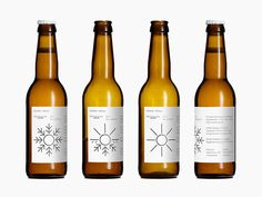 Bedow collaboration with Danish brewery Mikkeller. This Pale Spring Ale is the first in a series of four seasonal beers released during 2012. The label is printed with a heat sensitive color—when the label gets warm the snowflake turns into a sun. Limited to 3,500 bottles.