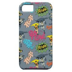 Batman And Robin Action Pattern iPhone 5 Cases