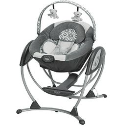 Graco Glider LX Gliding Swing in Affinia is a unique gliding swing that soothes with the same gentle motion you use when cuddling and comforting baby in your nursery glider. Baby Swing Seat, Baby Swings, Baby Car Seats, Infant Swing, Newborn Swing, The Babys, Baby Needs, Baby Love, Baby Calm