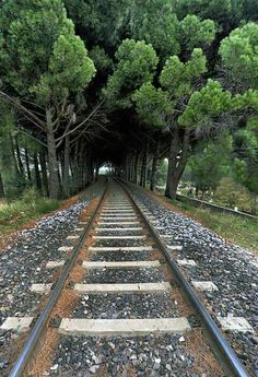 Love train tracks