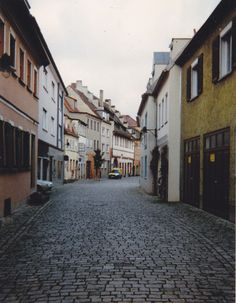 Schweinfurt, Germany - One of my favorite streets