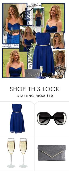 """""""Emily Thorne"""" by productionkid ❤ liked on Polyvore featuring Untold, H&M, Lulu Townsend, Jimmy Choo, Revenge, emilyvancamp and emilythorne"""