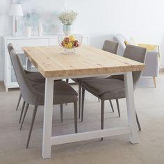 Laur silla tapizada gris