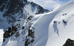 La Grave, France - among Ten of the world's most terrifying ski descents in Europe and North America.