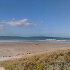 Spectacular shot of beach at #matarangi