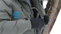 3d938e38b6e5 EMS Men's Black Ice Down Jacket Ems, Parka, Outerwear Jackets, Hoodies,  Parkas