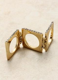 Hinge Ring,  Jewelry, hinge ring  ring  CaliJoules  edgy, Chic ...//md