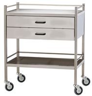 science busking trolley with 2 wide drawers